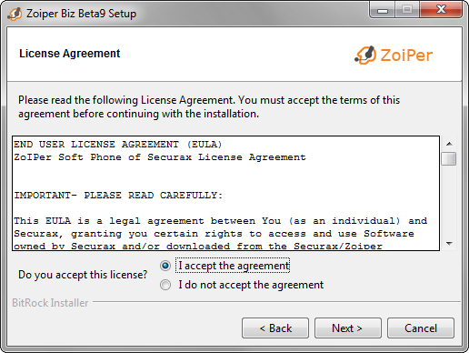 Zoiper Windows Installation and Configuration :: Zoiper